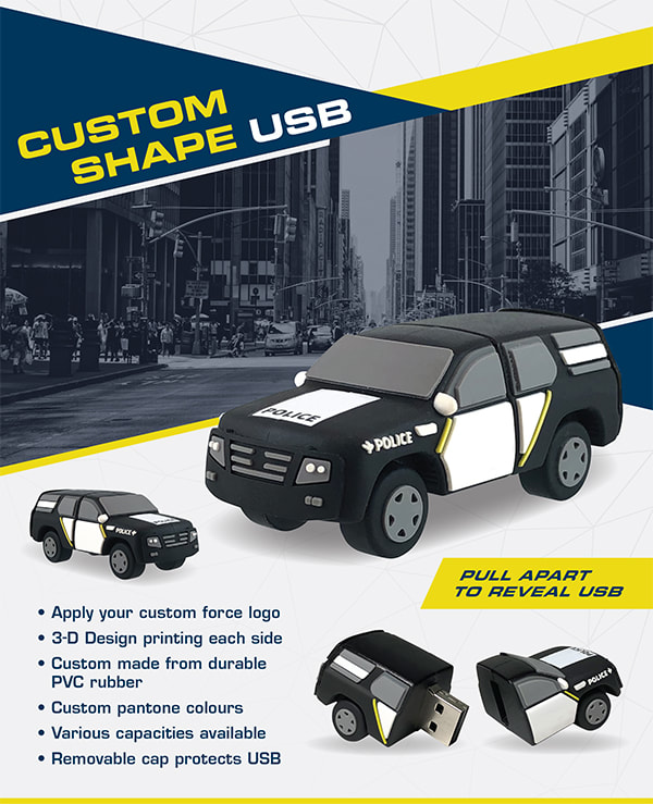 Car USB Promotional Flyer