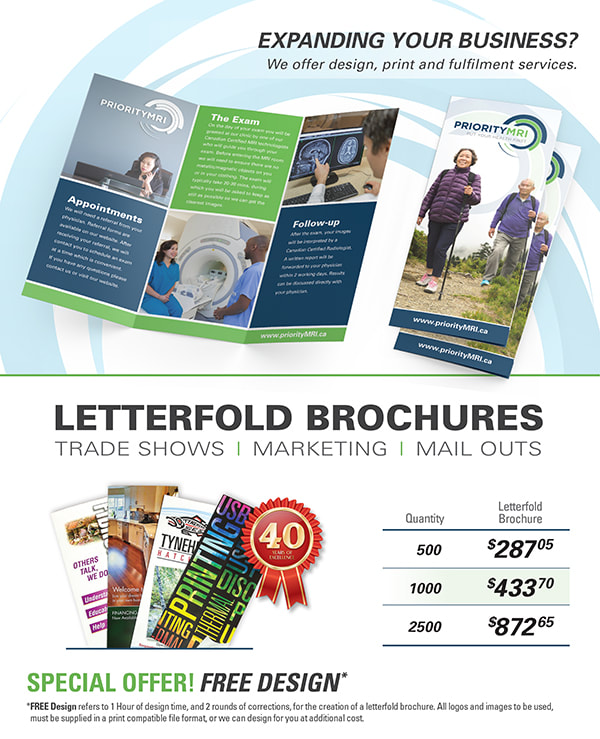 Letterfold Brochure Promotional Flyer